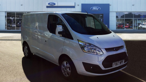 Ford Transit Custom 290 Swb Diesel Fwd 2.0 Tdci 130Ps Low Roof Limited Van