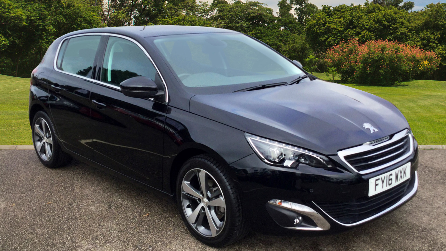 used peugeot 308 1 2 puretech 130 allure 5dr eat6 petrol. Black Bedroom Furniture Sets. Home Design Ideas