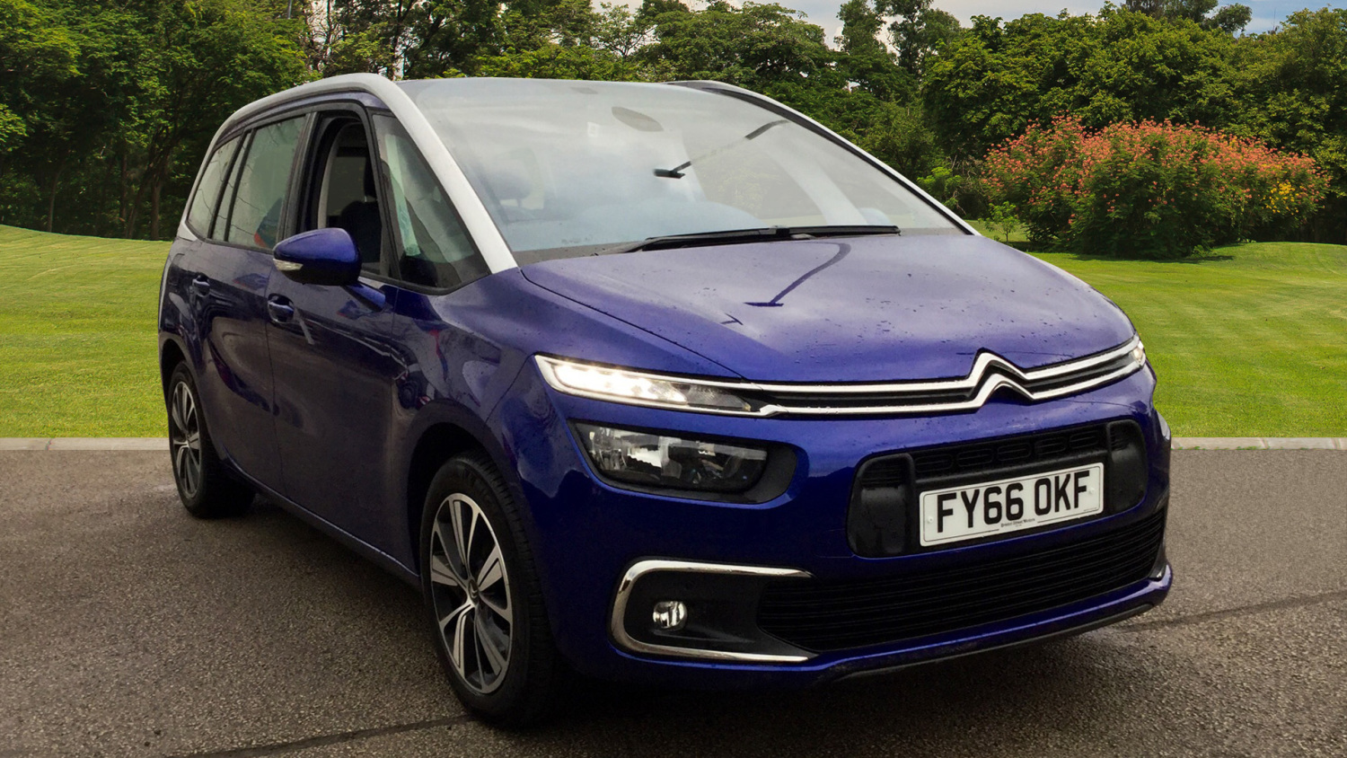 used citroen grand c4 picasso 1 6 bluehdi feel 5dr diesel. Black Bedroom Furniture Sets. Home Design Ideas