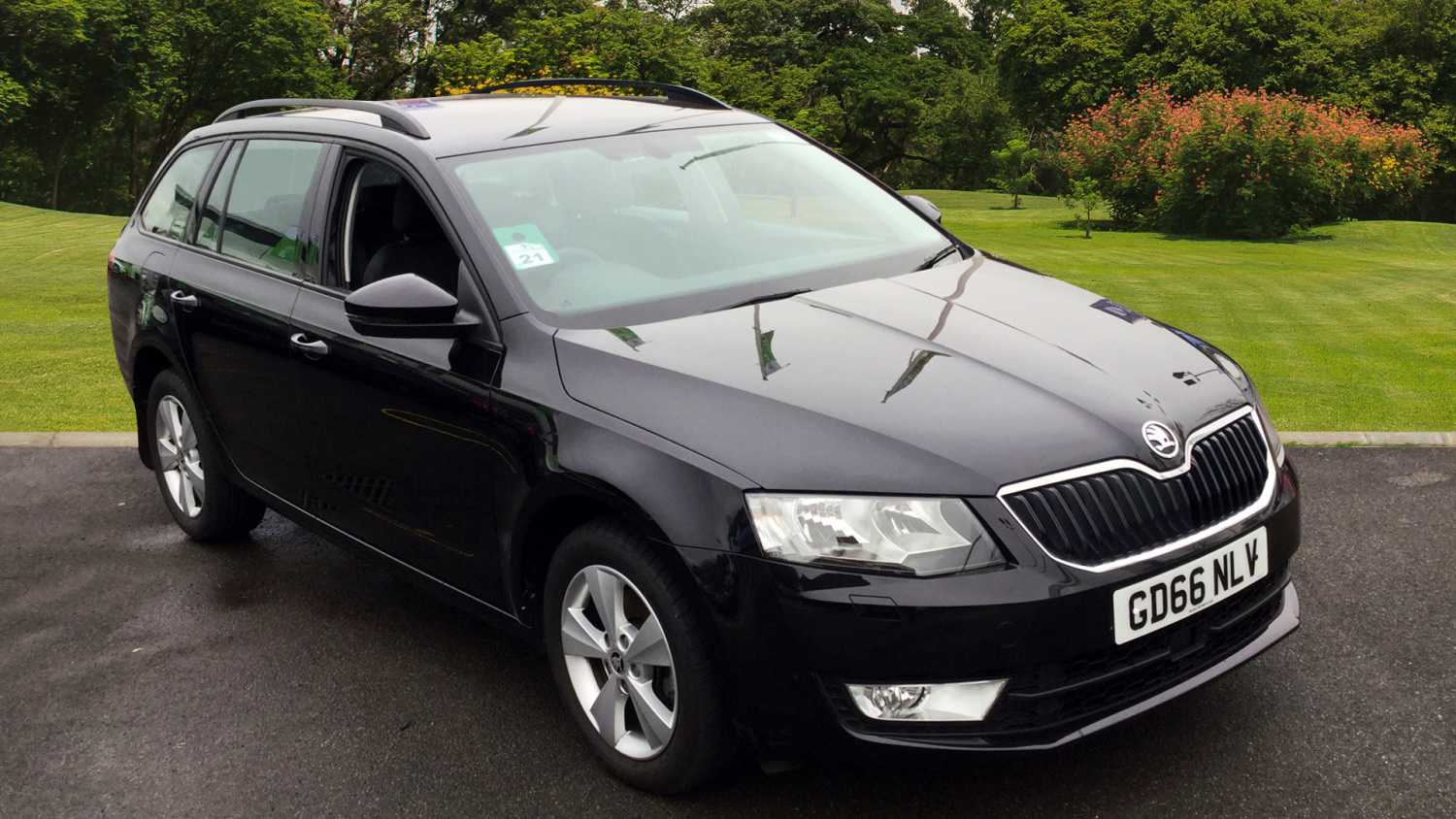 used skoda octavia 2 0 tdi cr se l 5dr dsg diesel estate. Black Bedroom Furniture Sets. Home Design Ideas