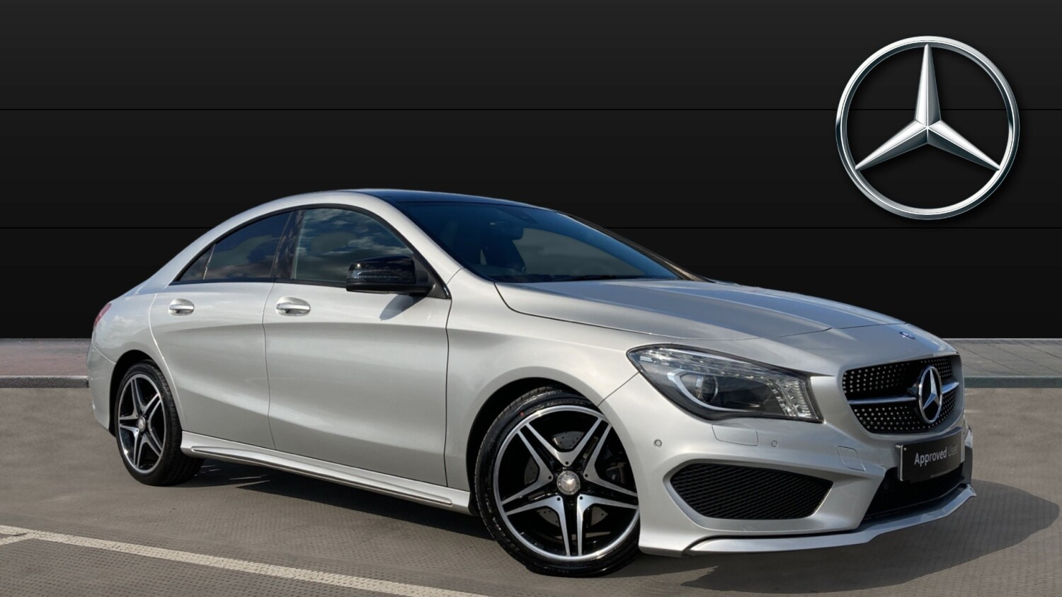 Used mercedes benz cla cla 220d amg line 4dr tip auto for Mercedes benz cla for sale uk