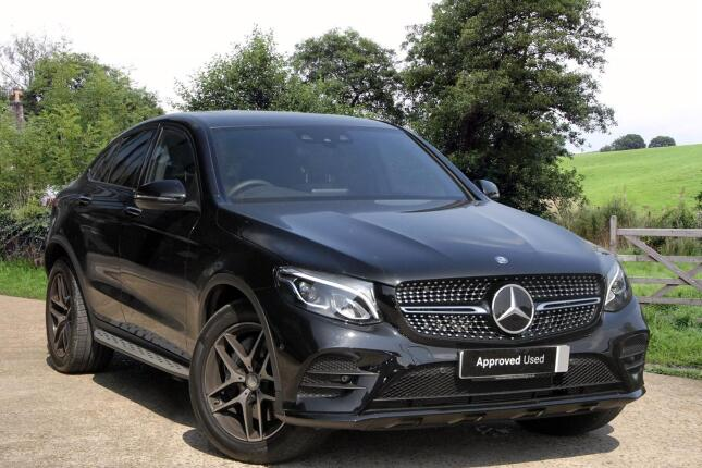 Used mercedes benz glc coupe glc 250d 4matic amg line for Estate motors mercedes benz