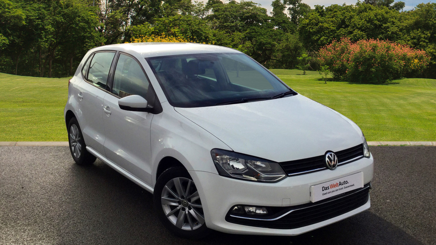 used volkswagen polo 1 4 tdi se 5dr diesel hatchback for. Black Bedroom Furniture Sets. Home Design Ideas