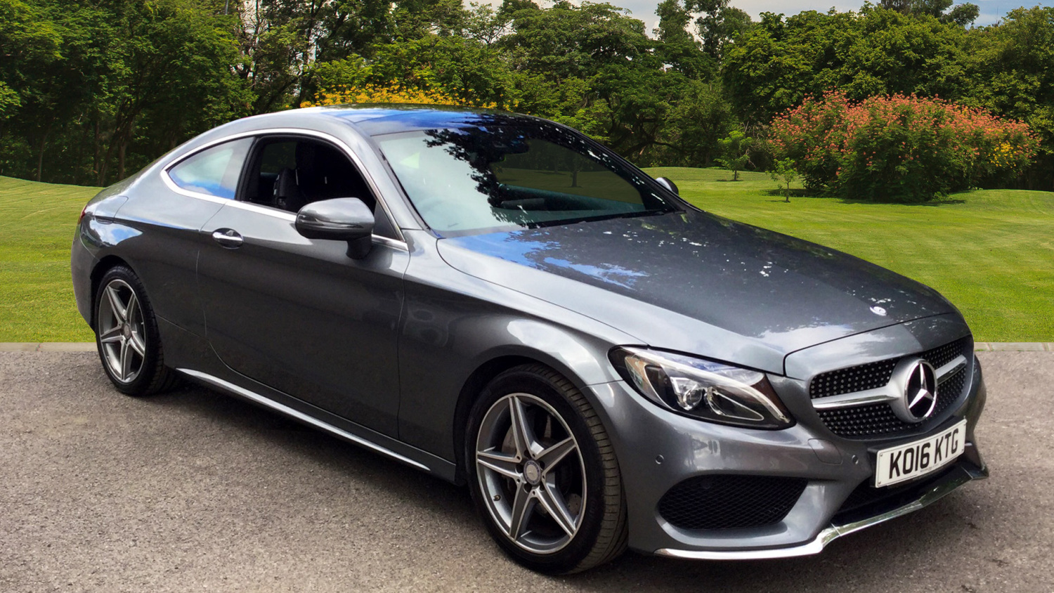 Used mercedes benz c class c250d amg line premium plus 2dr auto diesel coupe for sale bristol - Mercedes c class coupe used ...