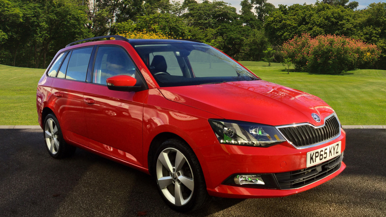 used skoda fabia 1 2 tsi se l 5dr petrol estate for sale. Black Bedroom Furniture Sets. Home Design Ideas