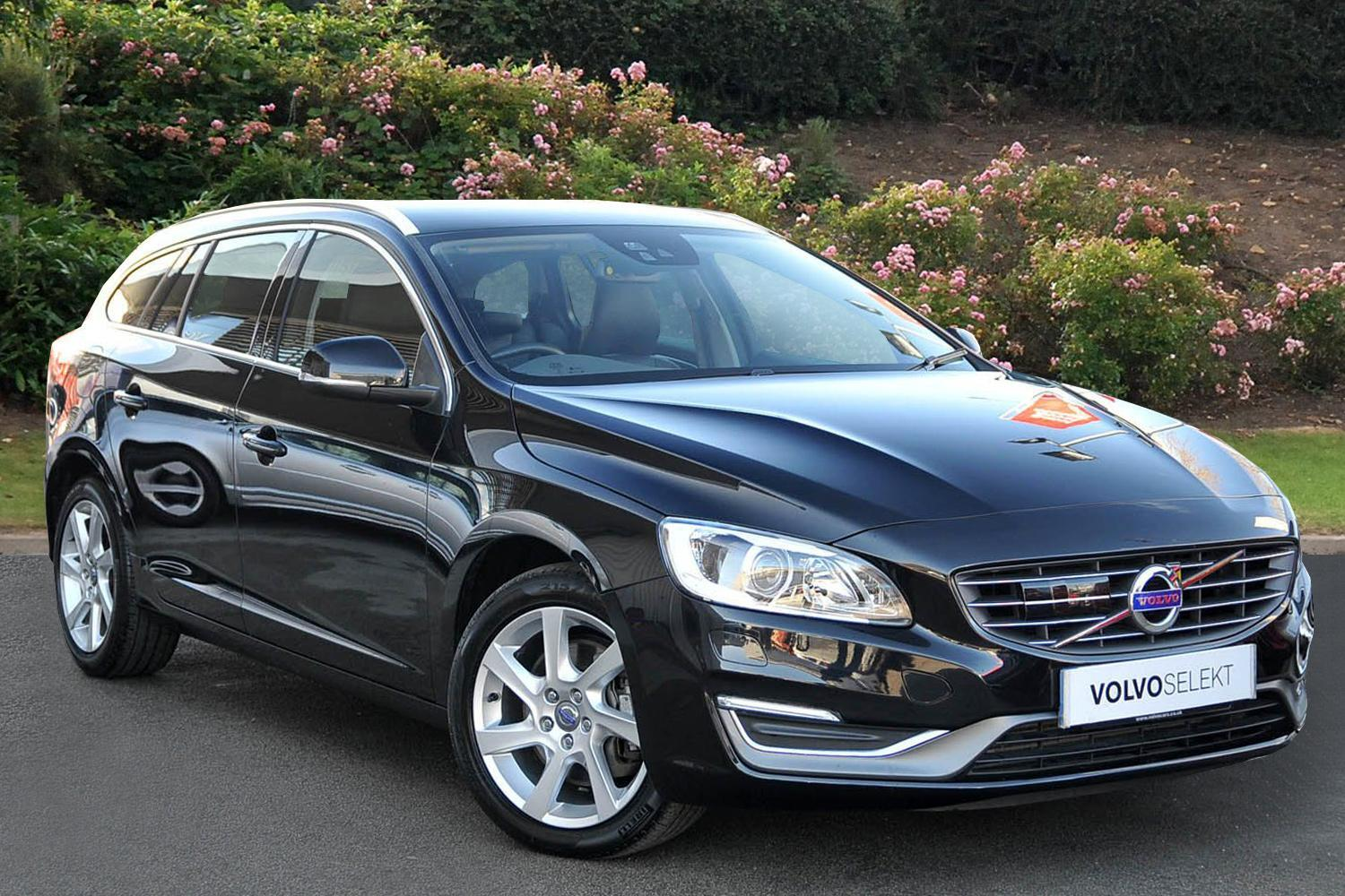 used volvo v60 d5 215 se lux nav 5dr geartronic diesel. Black Bedroom Furniture Sets. Home Design Ideas