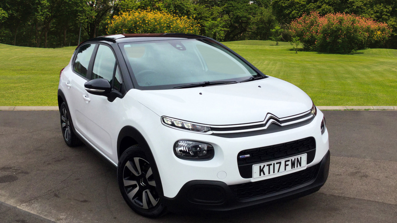 used citroen c3 1 2 puretech 82 feel 5dr petrol hatchback. Black Bedroom Furniture Sets. Home Design Ideas