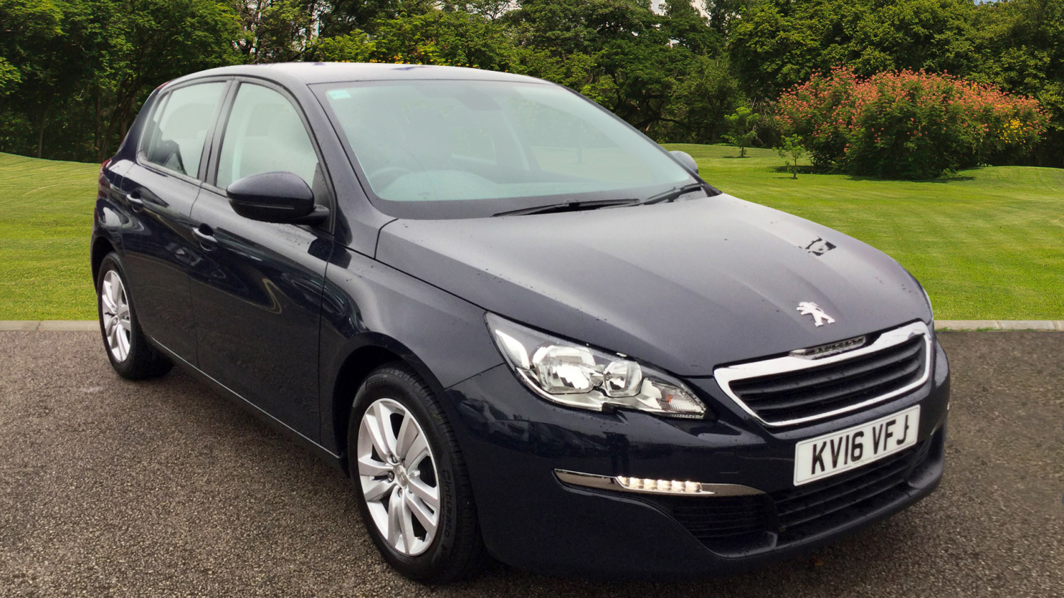 used peugeot 308 1 2 puretech 130 active 5dr eat6 petrol hatchback for sale bristol street motors. Black Bedroom Furniture Sets. Home Design Ideas