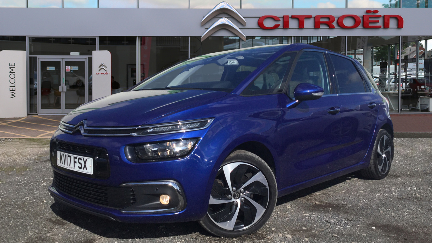 used citroen c4 picasso 2 0 bluehdi flair 5dr eat6 diesel estate for sale bristol street motors. Black Bedroom Furniture Sets. Home Design Ideas