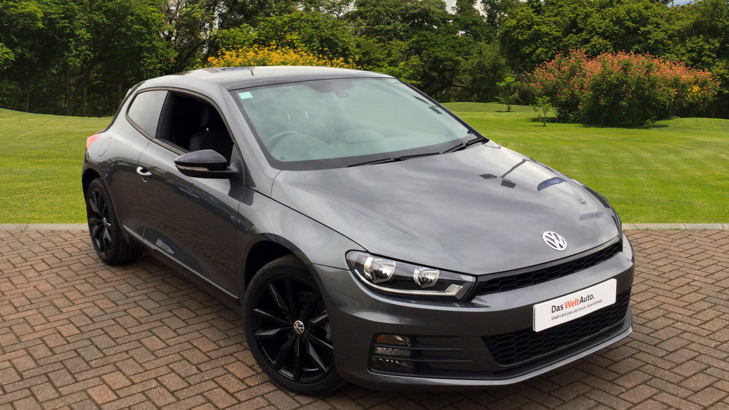 used volkswagen scirocco 1 4 tsi bluemotion tech gt black. Black Bedroom Furniture Sets. Home Design Ideas