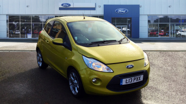 Ford Ka 1.2 Zetec 3Dr [start Stop] Petrol Hatchback
