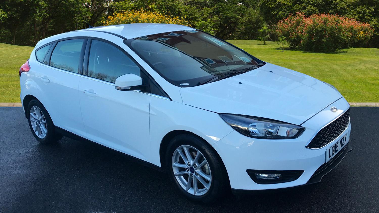 used ford focus 1 0 ecoboost zetec 5dr petrol hatchback. Black Bedroom Furniture Sets. Home Design Ideas
