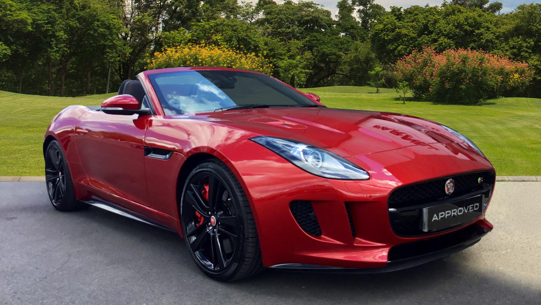 used jaguar f type 3 0 supercharged v6 s 2dr auto awd petrol convertible for sale bristol. Black Bedroom Furniture Sets. Home Design Ideas