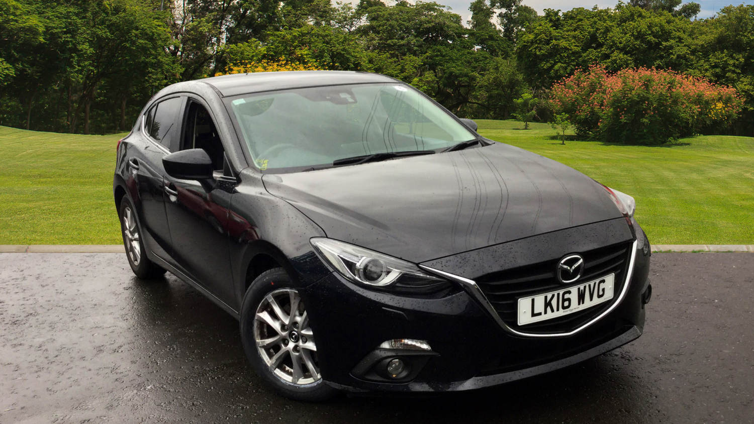 used mazda 3 2 0 se l nav 5dr auto petrol hatchback for sale bristol street motors. Black Bedroom Furniture Sets. Home Design Ideas