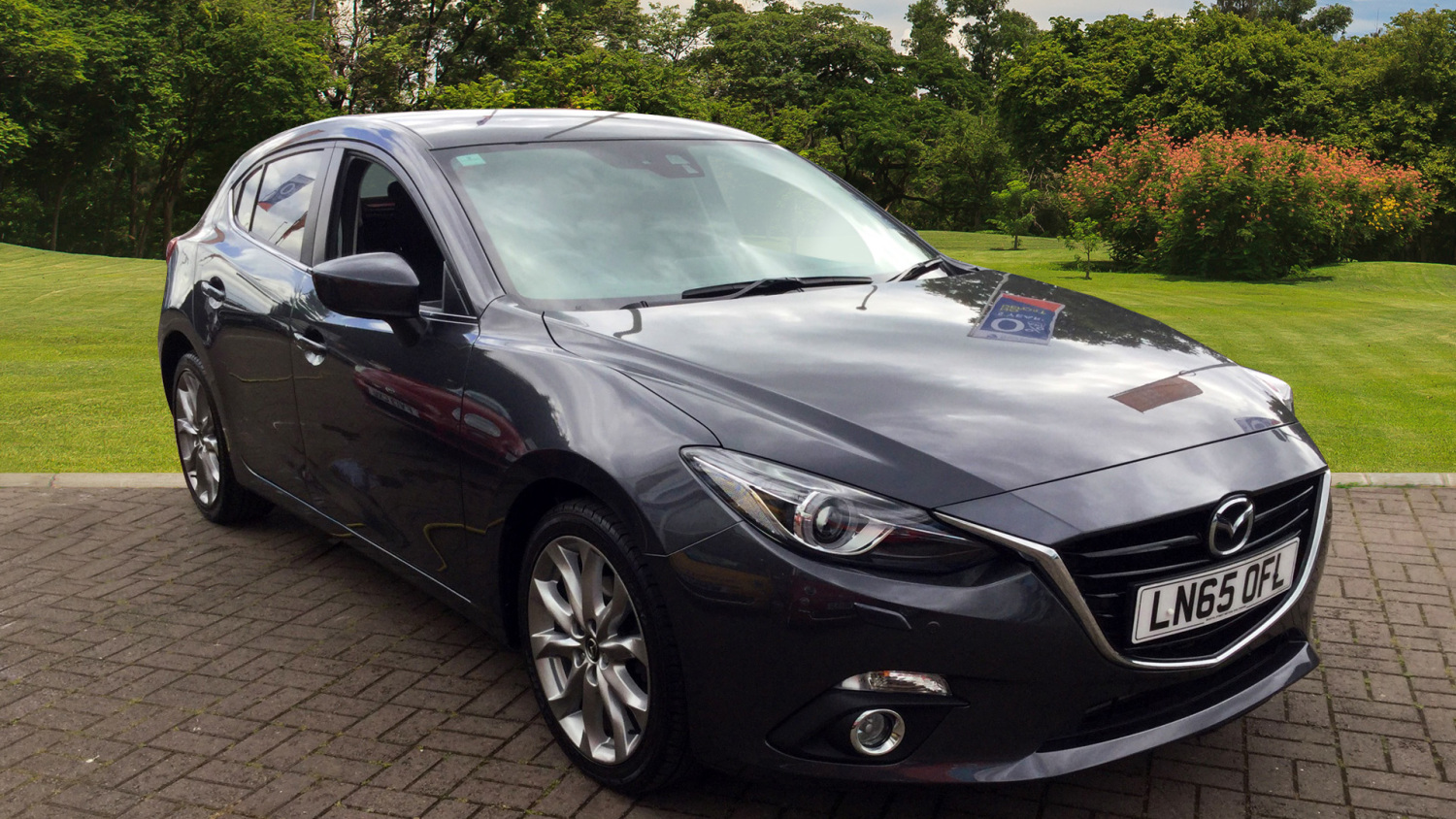 used mazda 3 2 2d sport nav 5dr auto diesel hatchback for. Black Bedroom Furniture Sets. Home Design Ideas