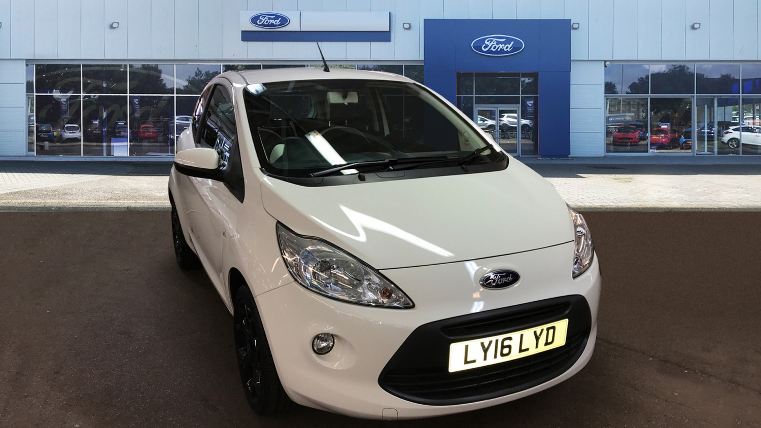 Ford Ka   Zetec White Edition Dr Petrol Hatchback