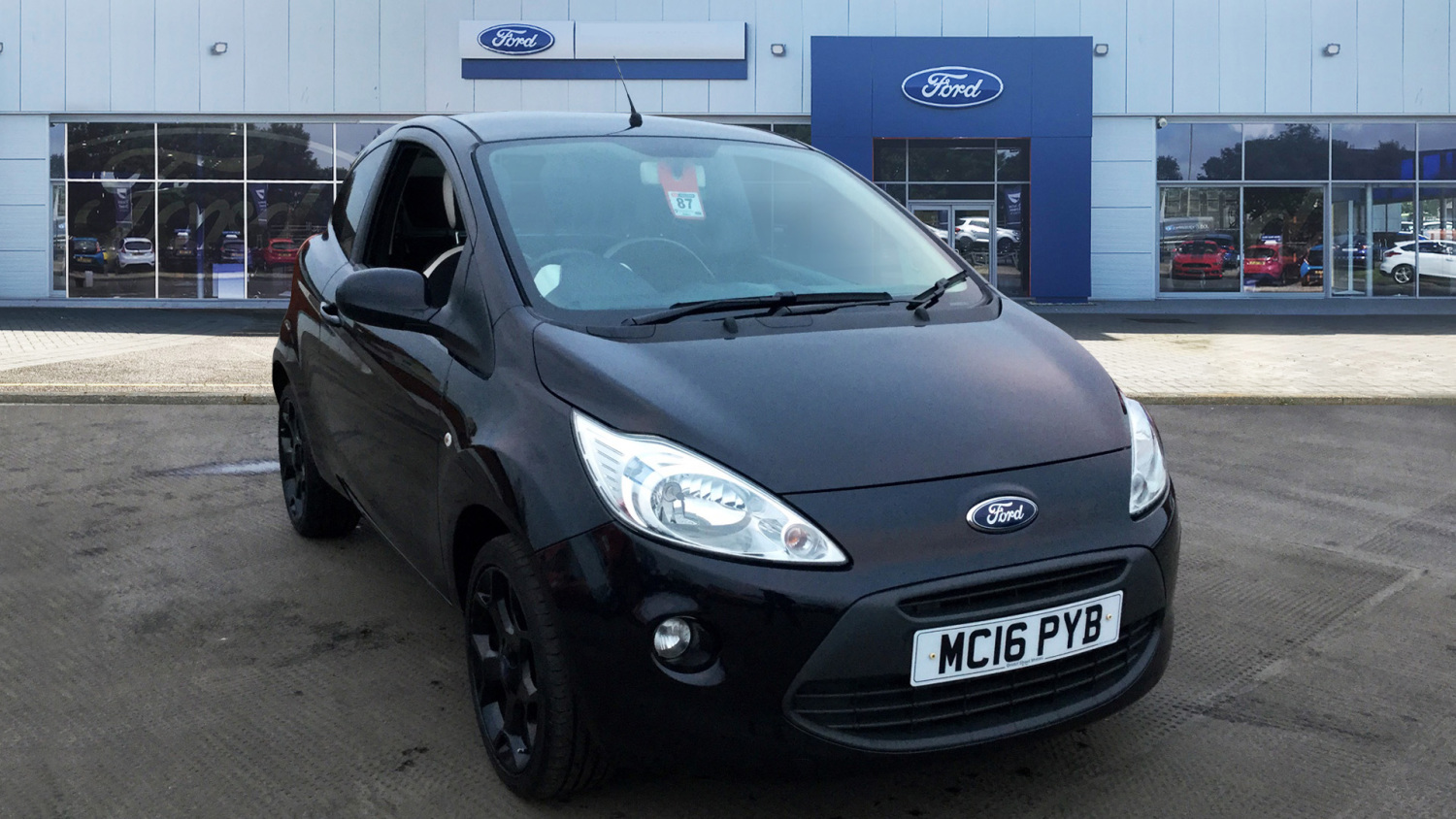 Ford Ka   Zetec Black Edition Dr Petrol Hatchback