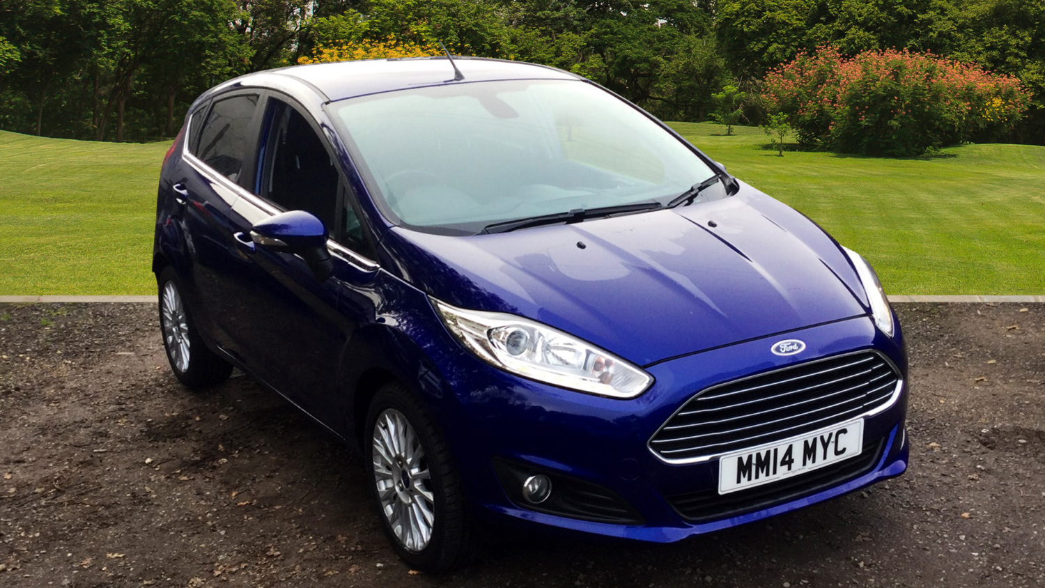 used ford fiesta 1 6 titanium 5dr powershift petrol hatchback for sale bristol street motors. Black Bedroom Furniture Sets. Home Design Ideas