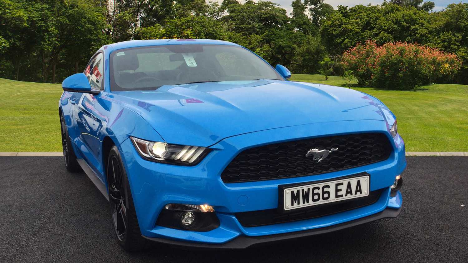 used ford mustang 2 3 ecoboost 2dr petrol coupe for sale bristol street motors. Black Bedroom Furniture Sets. Home Design Ideas