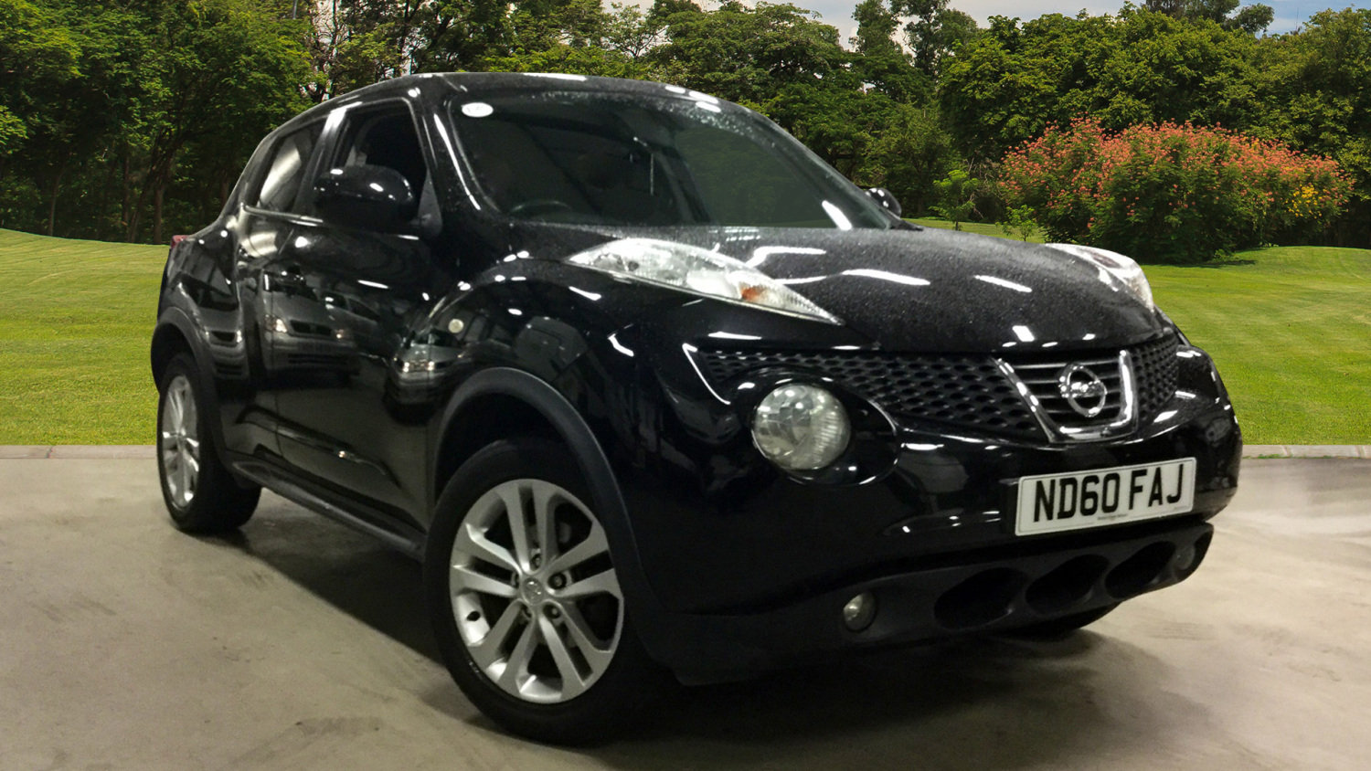 used nissan juke 1 6 acenta 5dr sport pack petrol hatchback for sale bristol street motors. Black Bedroom Furniture Sets. Home Design Ideas
