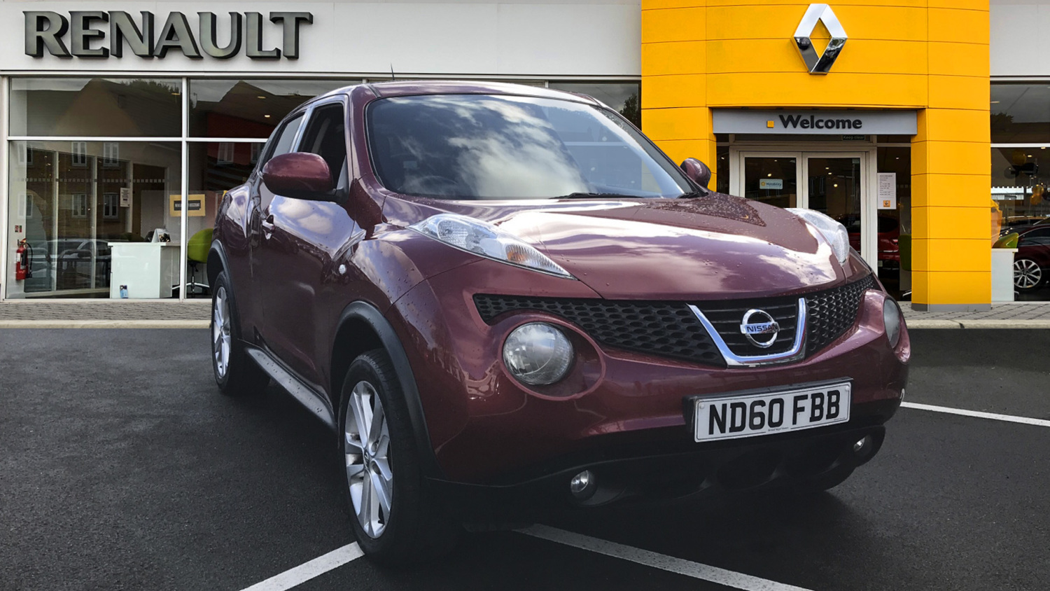 used nissan juke 1 6 acenta 5dr sport pack petrol. Black Bedroom Furniture Sets. Home Design Ideas