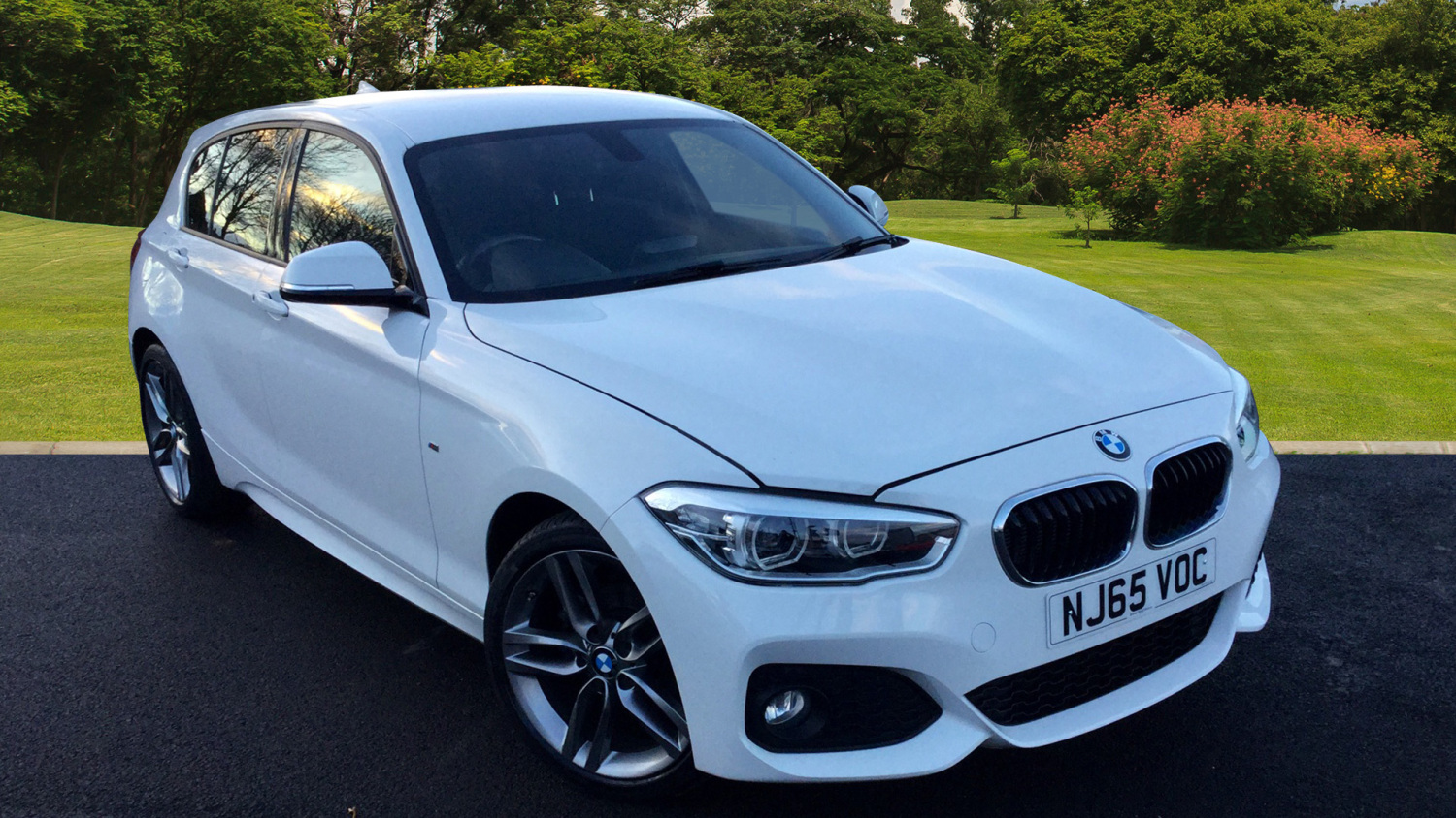 used bmw 1 series 118i m sport 5dr petrol hatchback for. Black Bedroom Furniture Sets. Home Design Ideas