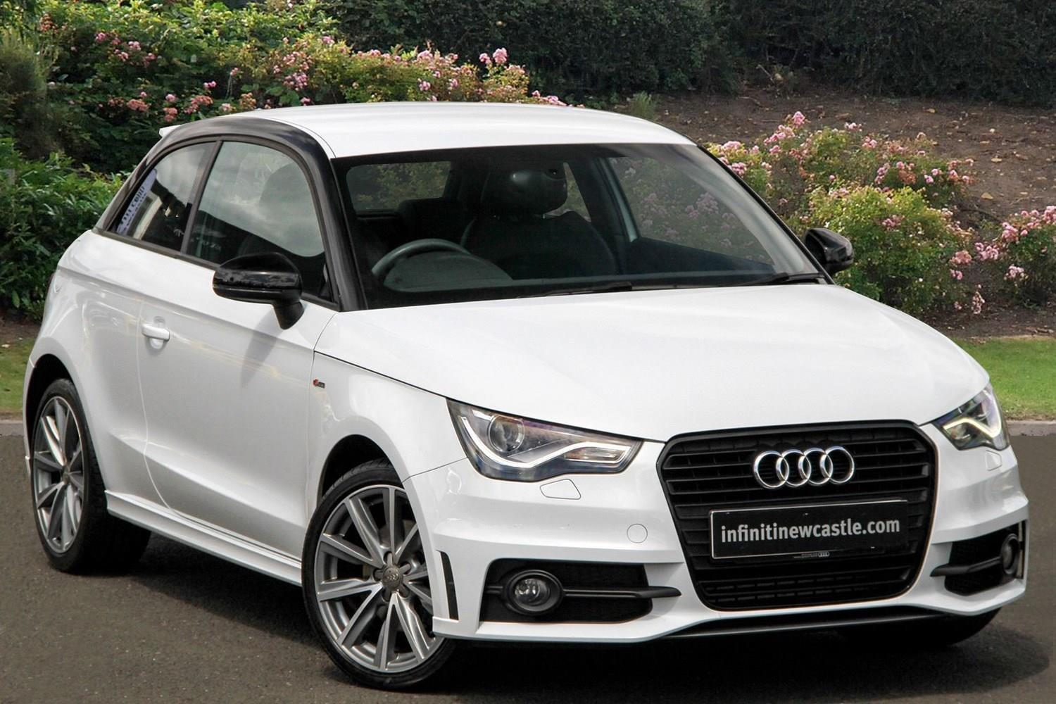 used audi a1 1 6 tdi s line style edition 3dr diesel. Black Bedroom Furniture Sets. Home Design Ideas