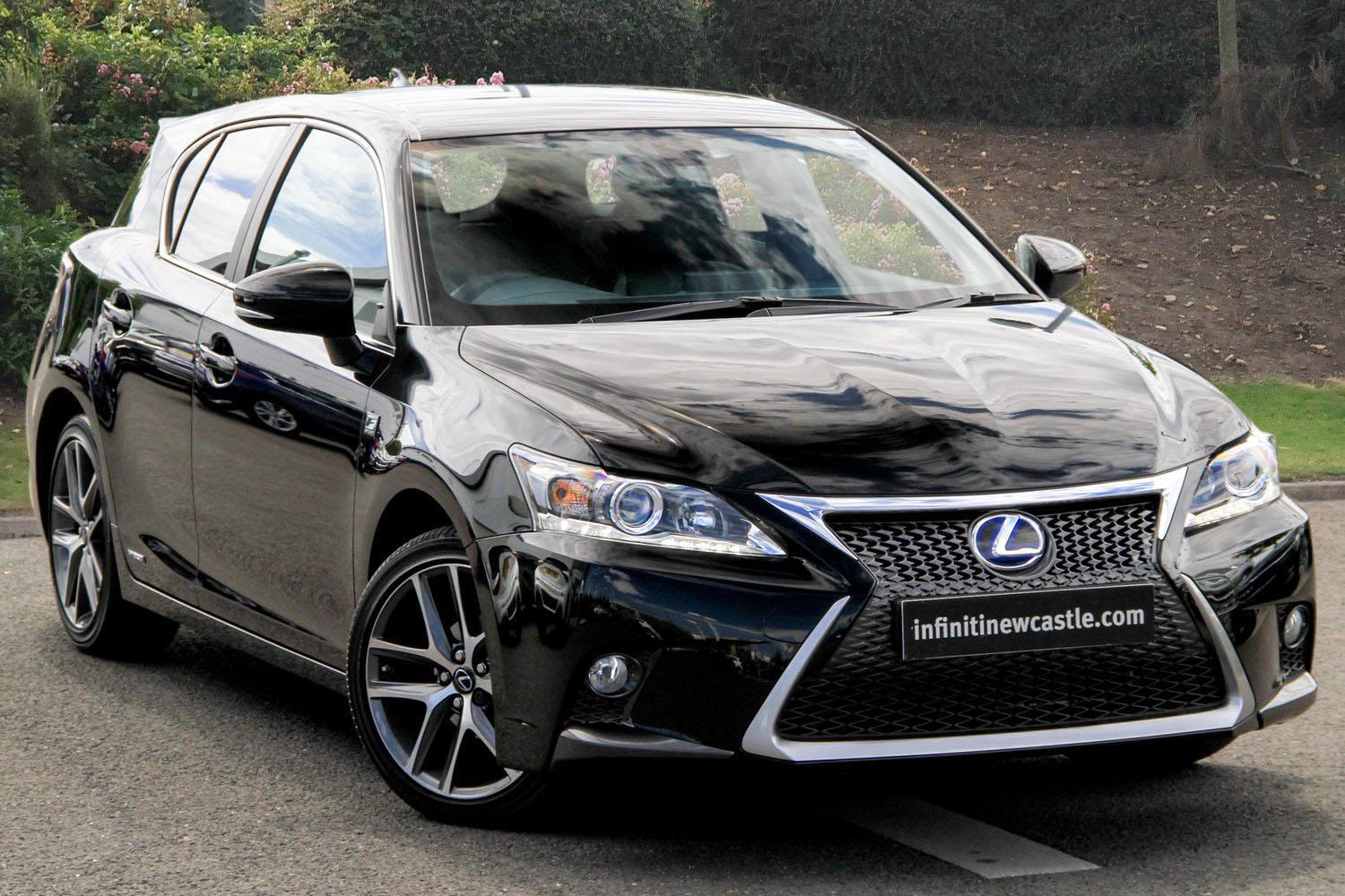 used lexus ct 200h 1 8 f sport 5dr cvt auto hybrid. Black Bedroom Furniture Sets. Home Design Ideas