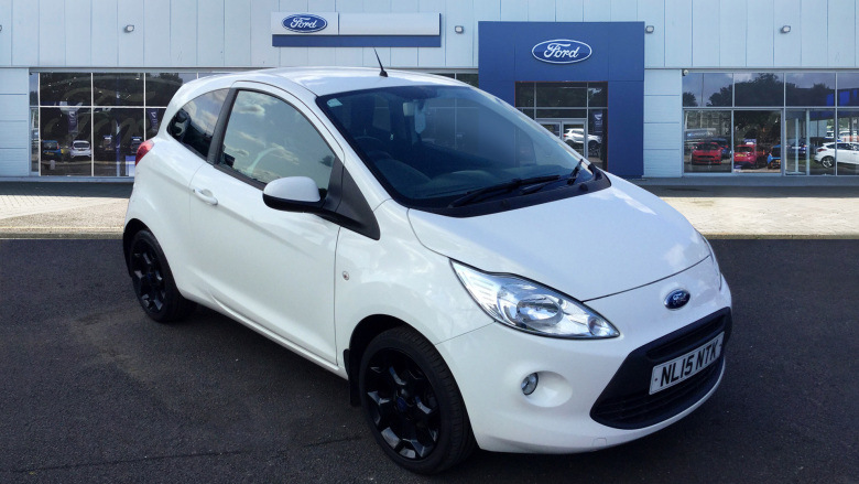 Ford Ka 1.2 Zetec White Edition 3dr Petrol Hatchback