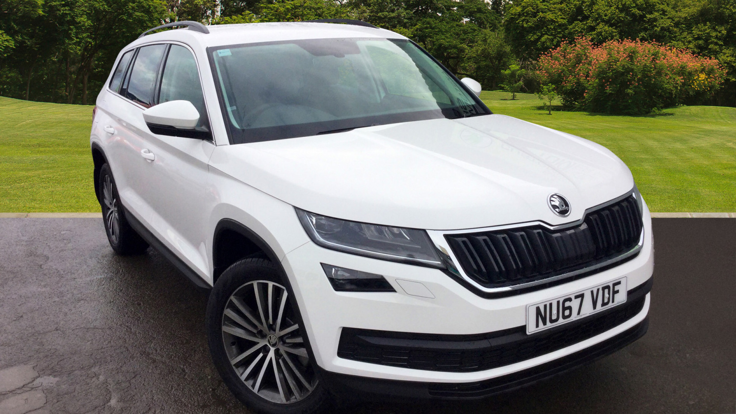 used skoda kodiaq 2 0 tdi se l 5dr dsg diesel estate for. Black Bedroom Furniture Sets. Home Design Ideas