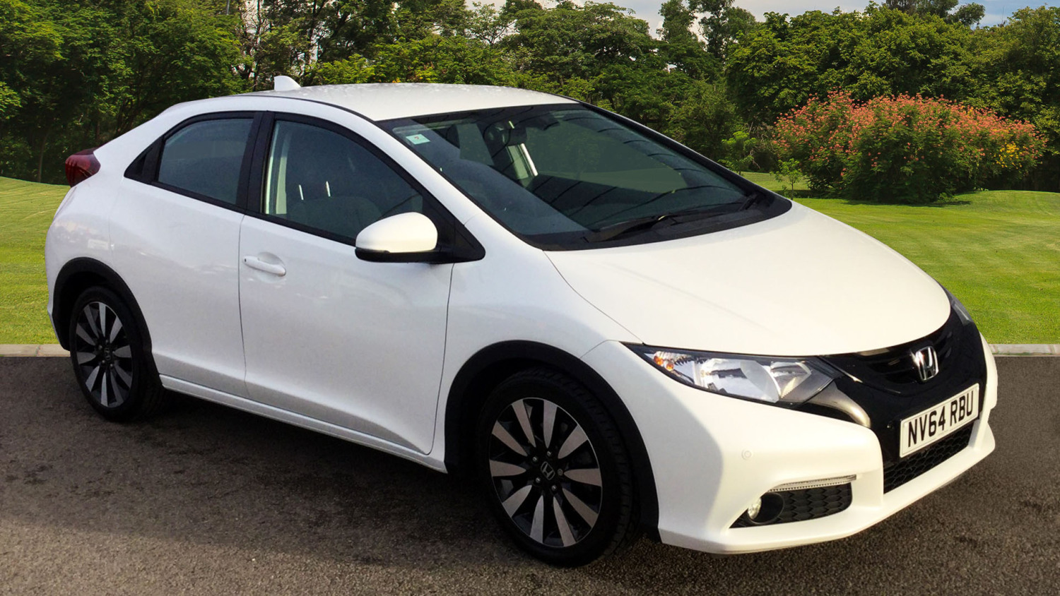 used honda civic 1 8 i vtec se plus 5dr petrol hatchback. Black Bedroom Furniture Sets. Home Design Ideas