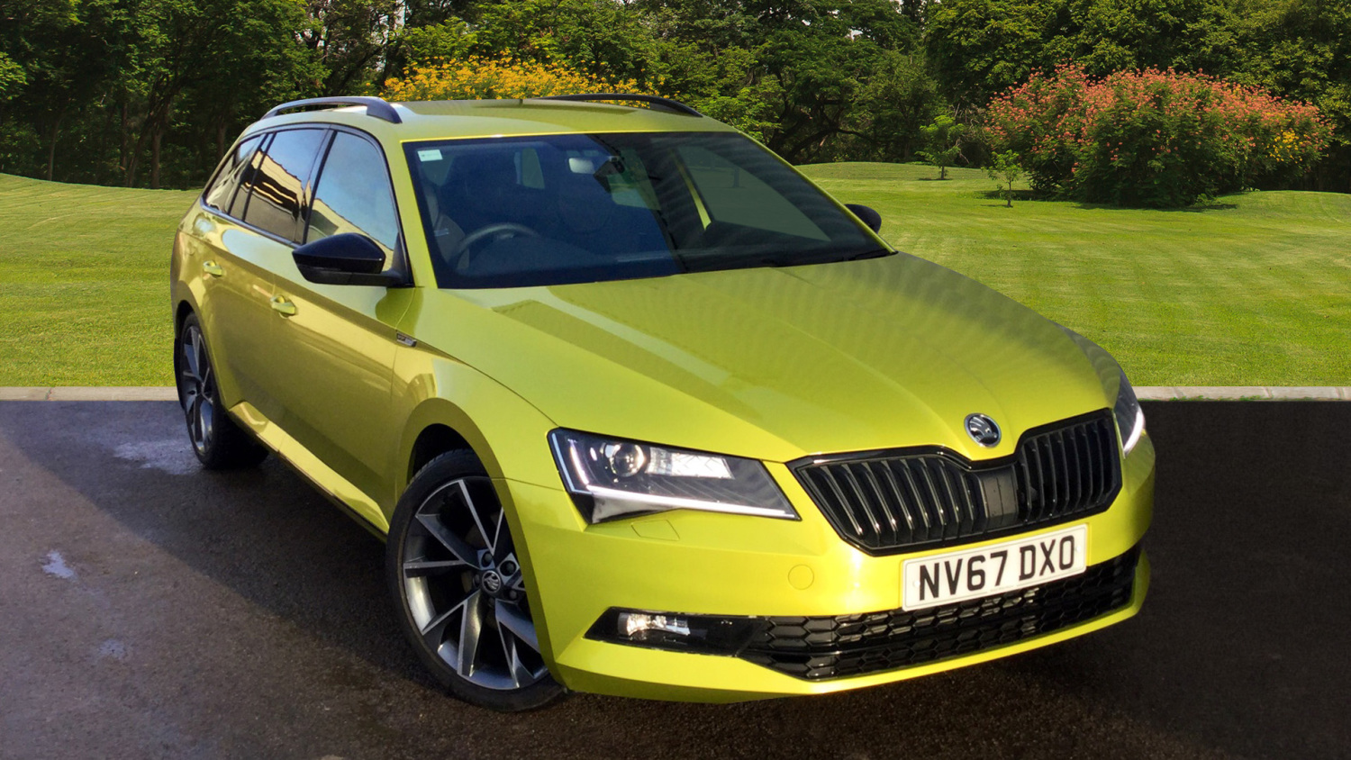 used skoda superb 2 0 tdi cr 190 sport line 5dr dsg 7. Black Bedroom Furniture Sets. Home Design Ideas