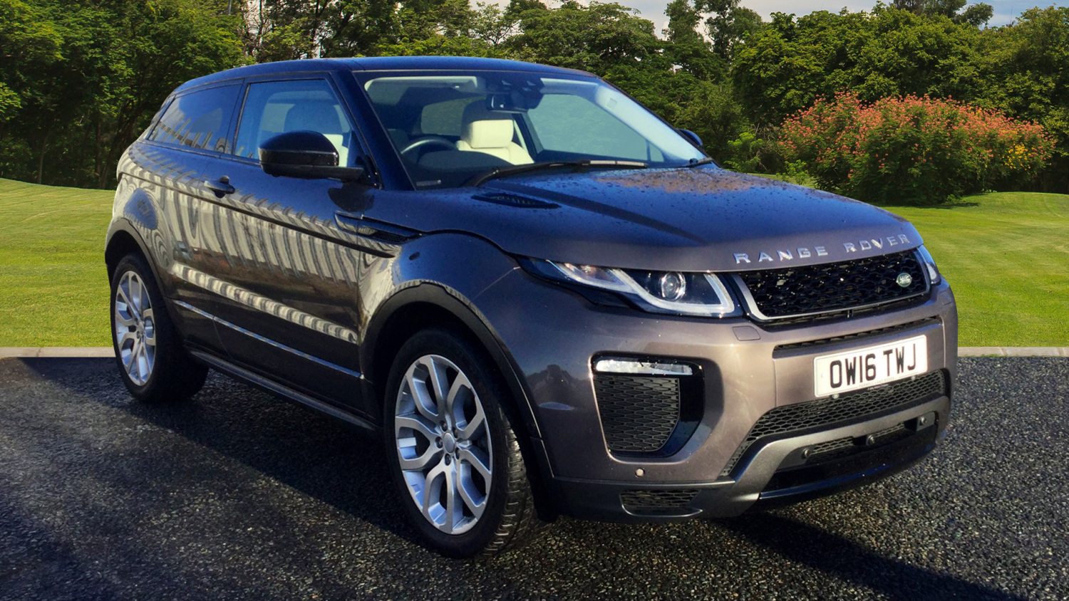 used land rover range rover evoque 2 0 td4 hse dynamic lux 3dr auto diesel coupe for sale. Black Bedroom Furniture Sets. Home Design Ideas