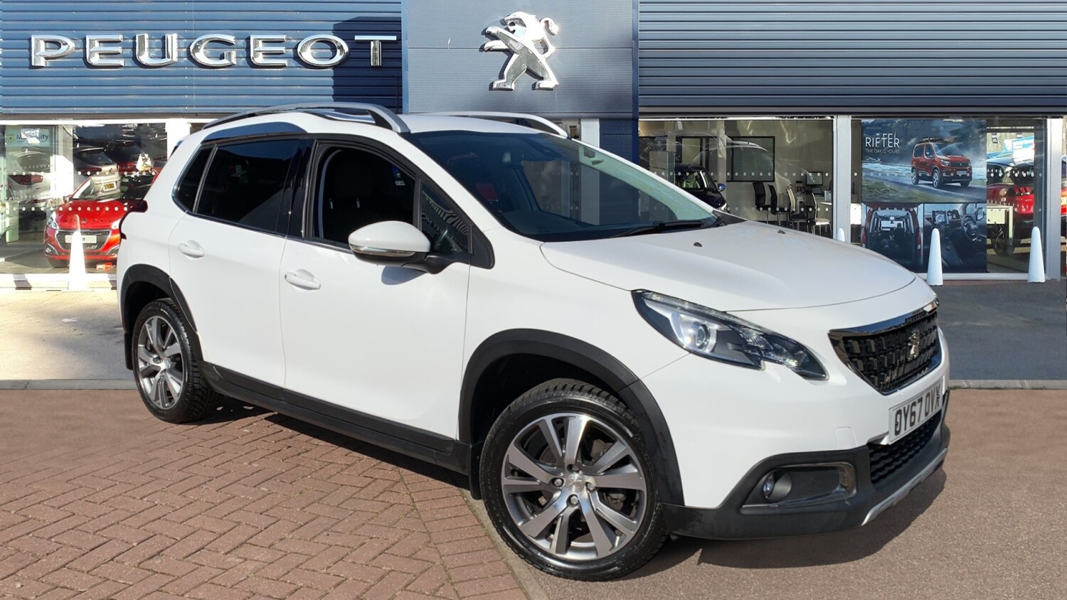used peugeot 2008 1 6 bluehdi 120 allure 5dr diesel estate. Black Bedroom Furniture Sets. Home Design Ideas