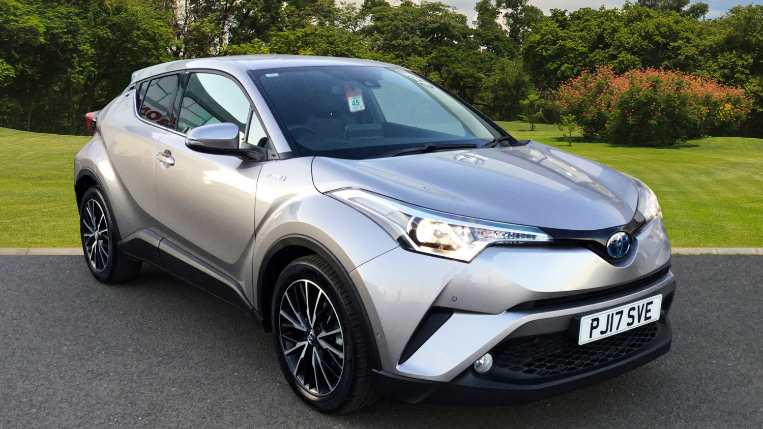 used toyota c hr 1 8 hybrid excel 5dr cvt hybrid hatchback for sale bristol street motors. Black Bedroom Furniture Sets. Home Design Ideas