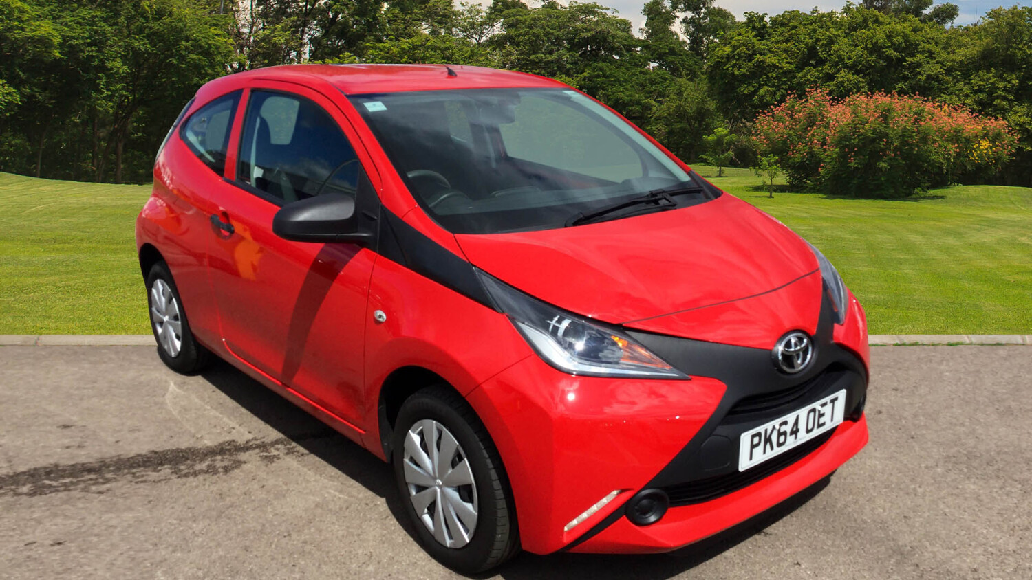 buy online toyota aygo 1 0 vvt i x 3dr petrol hatchback. Black Bedroom Furniture Sets. Home Design Ideas