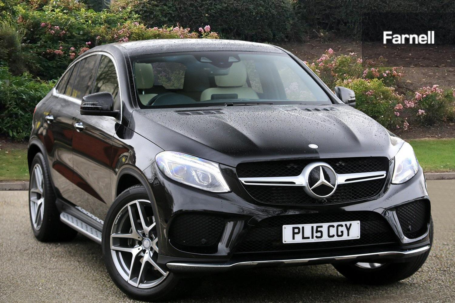 Used Mercedes Benz Gle Coupe Gle 350d 4matic Designo Line