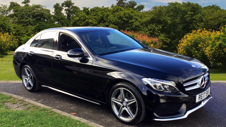 Used Mercedes Benz C Class C220d Amg Line Premium 4dr 9g