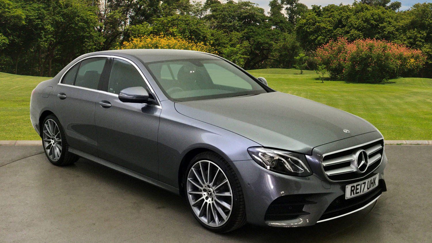 Used Mercedes Benz E Class E200d Amg Line 4dr 9g Tronic