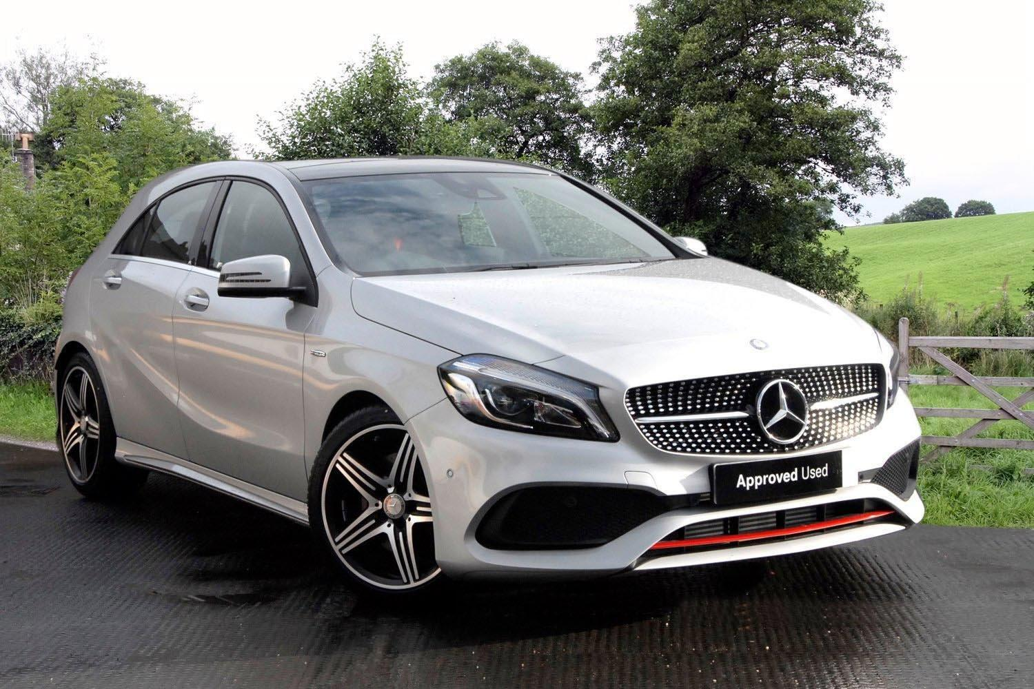 used mercedes benz a class a250 4matic amg premium 5dr auto petrol hatchback for sale bristol. Black Bedroom Furniture Sets. Home Design Ideas