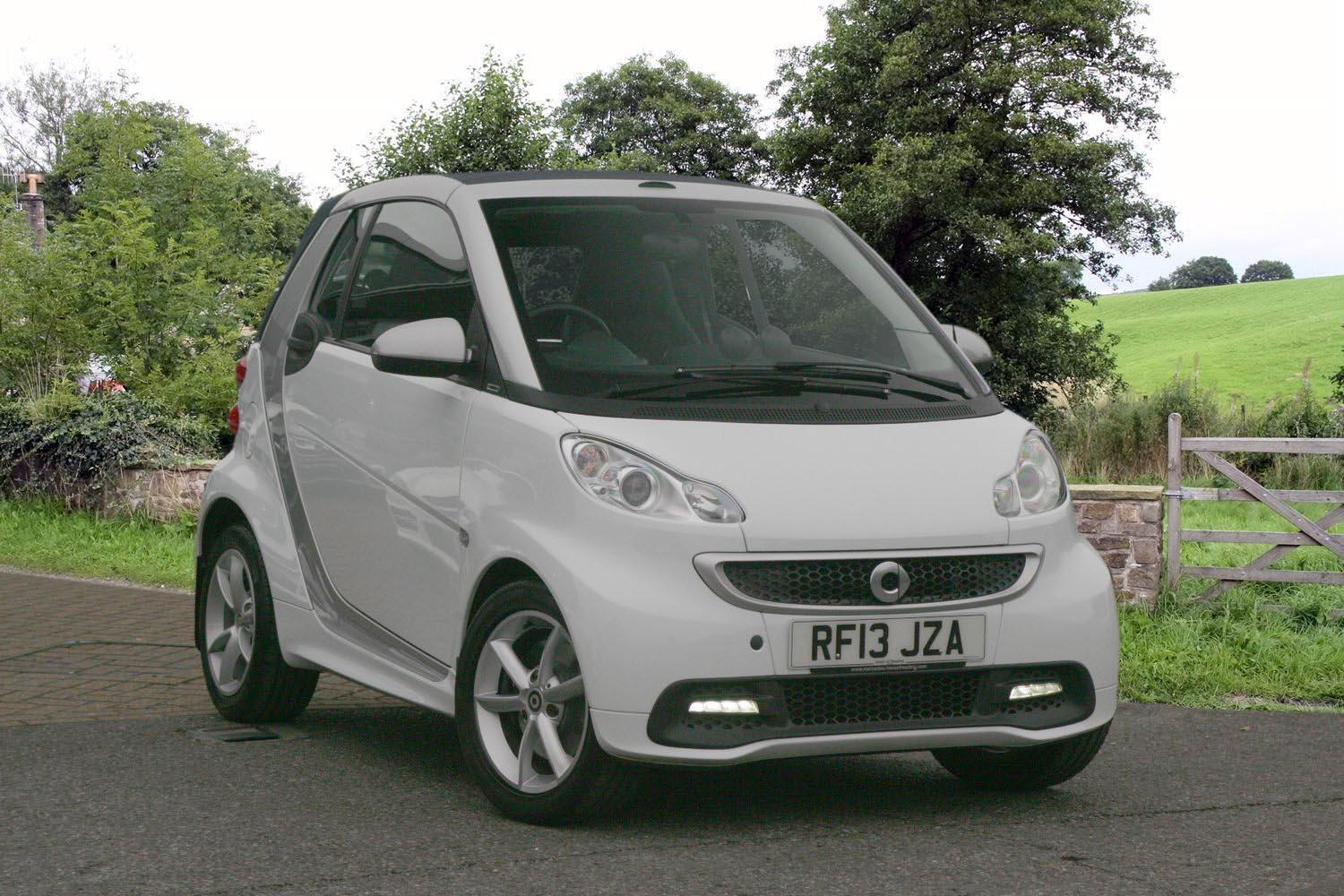 Used Smart Fortwo Cabrio Pulse Mhd 2dr Softouch Auto 2010