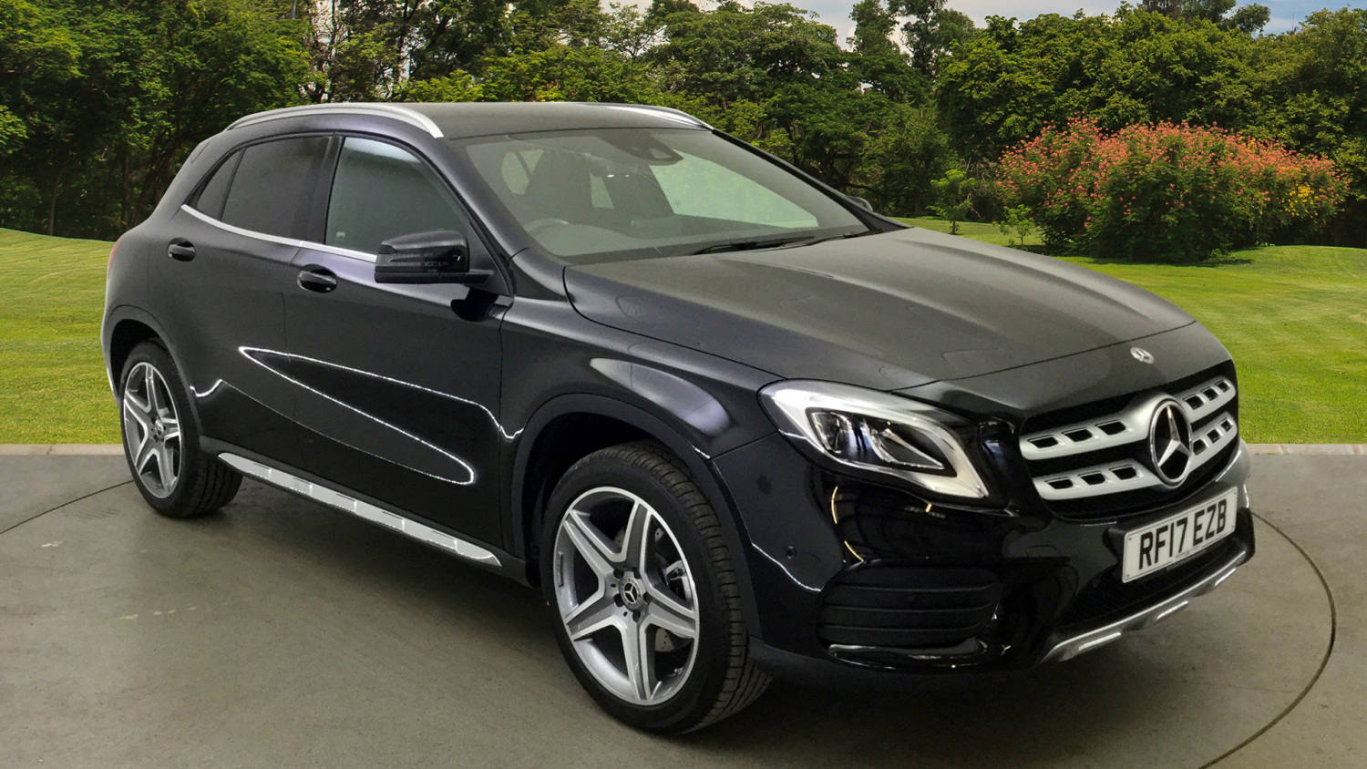 used mercedes benz gla gla 220d 4matic amg line premium 5dr auto diesel hatchback for sale. Black Bedroom Furniture Sets. Home Design Ideas