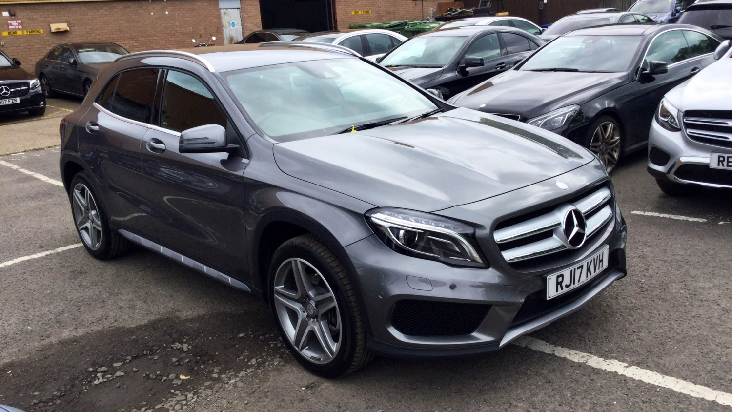 Used Mercedes Benz Gla Gla 220d 4matic Amg Line 5dr Auto