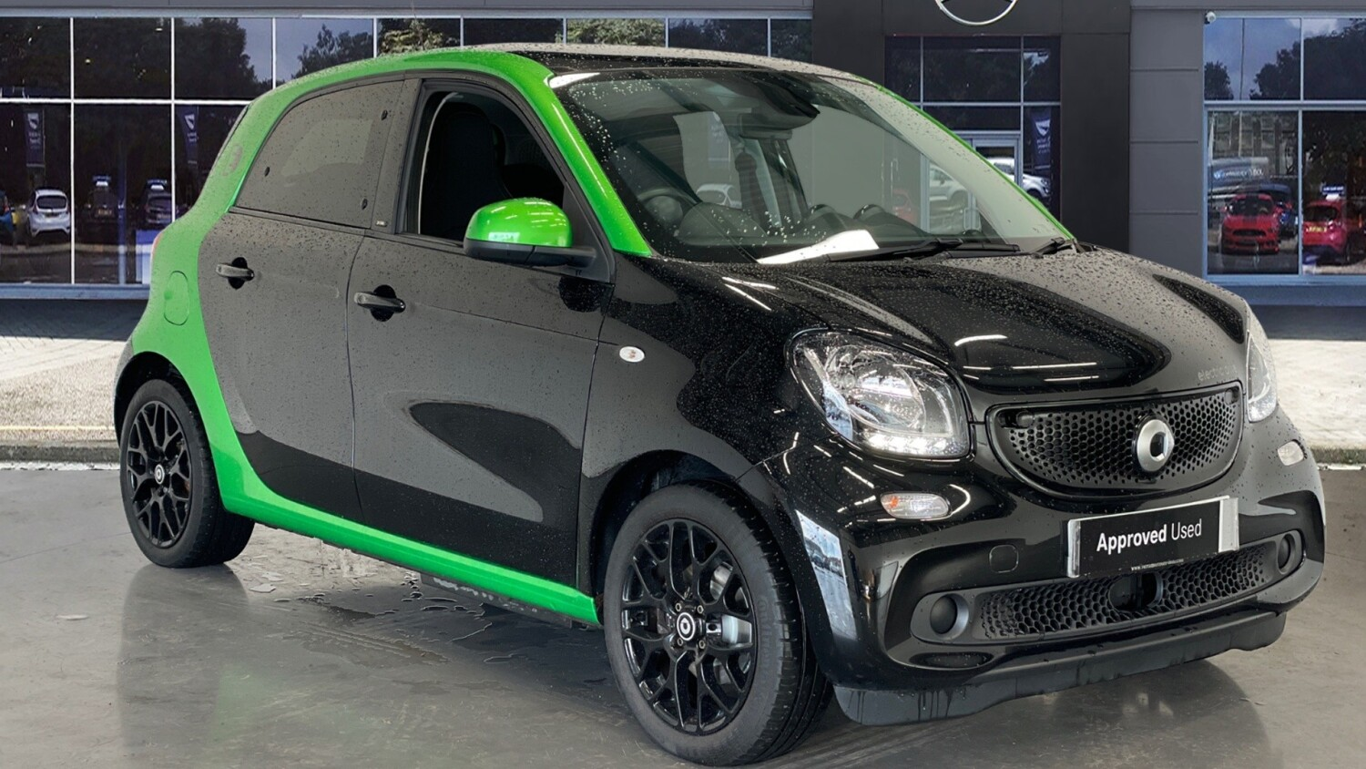 used smart forfour hatchback electric drive prime premium 5dr auto electric hatchback for sale. Black Bedroom Furniture Sets. Home Design Ideas
