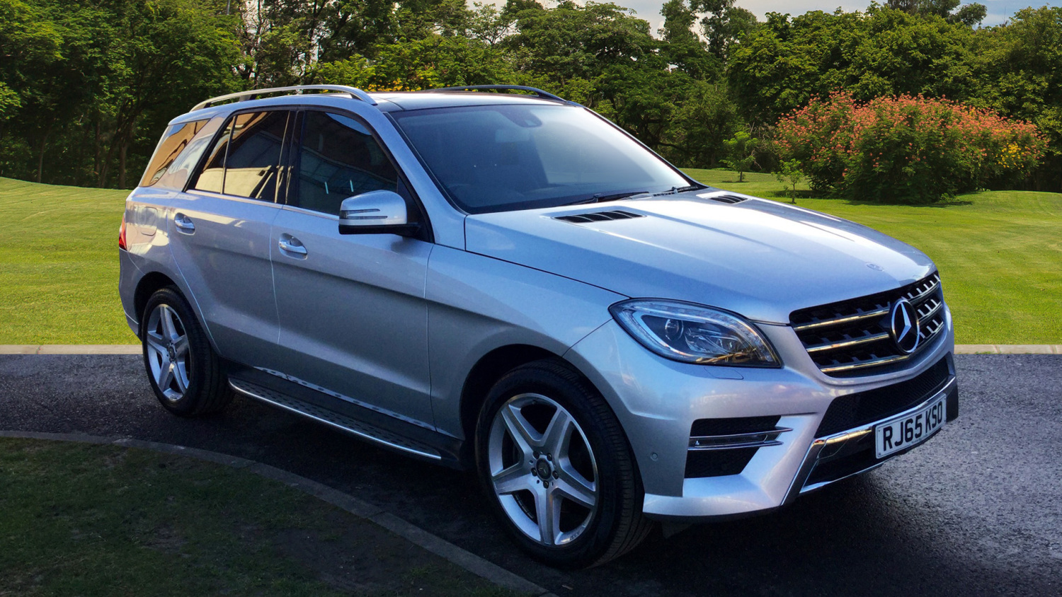 Used mercedes benz m class ml250 cdi bluetec amg line 5dr for Mercedes benz diesel