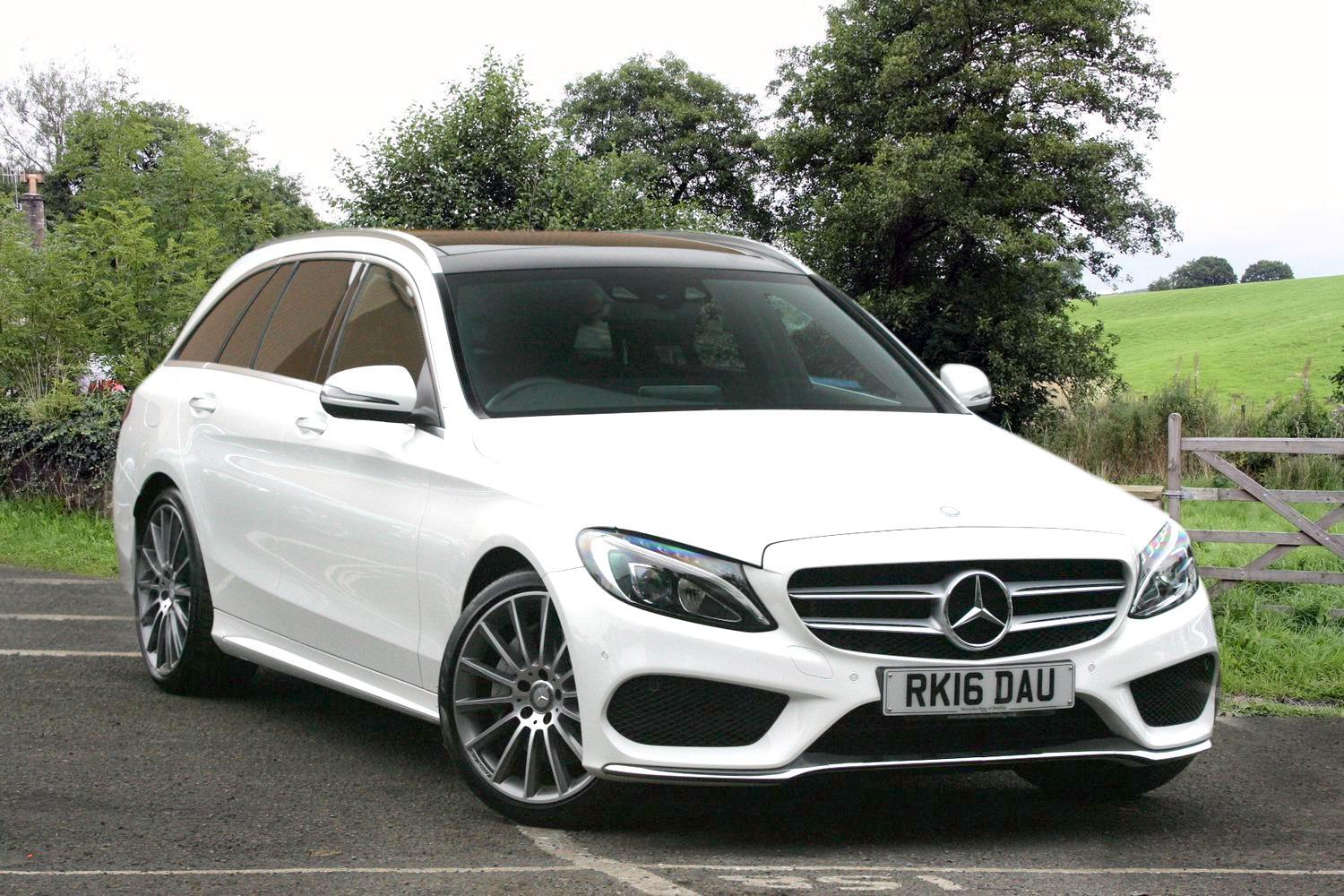 used mercedes benz c class c250d amg line premium plus 5dr auto diesel estate for sale bristol. Black Bedroom Furniture Sets. Home Design Ideas