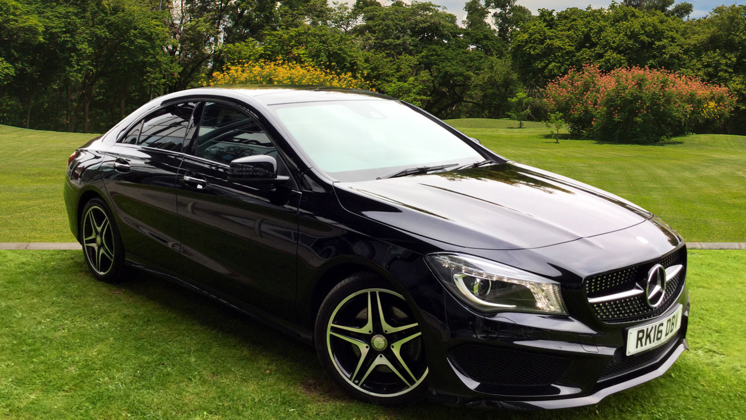 used mercedes benz cla cla 220d 177 amg sport 4dr tip. Black Bedroom Furniture Sets. Home Design Ideas