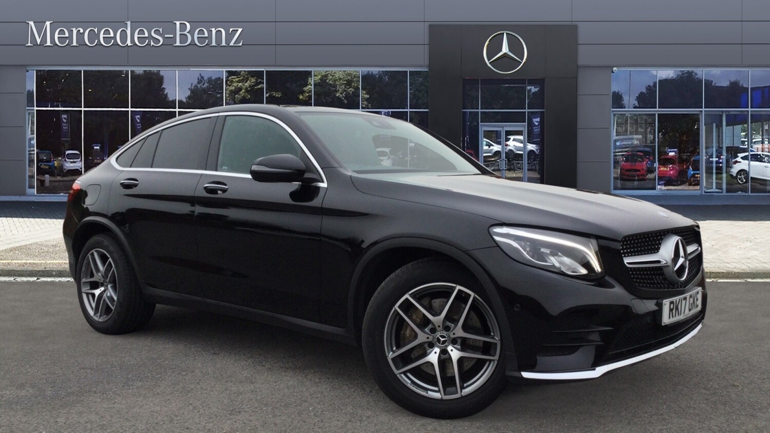 Used mercedes benz glc coupe glc 220d 4matic amg line prem for Mercedes benz 220d for sale