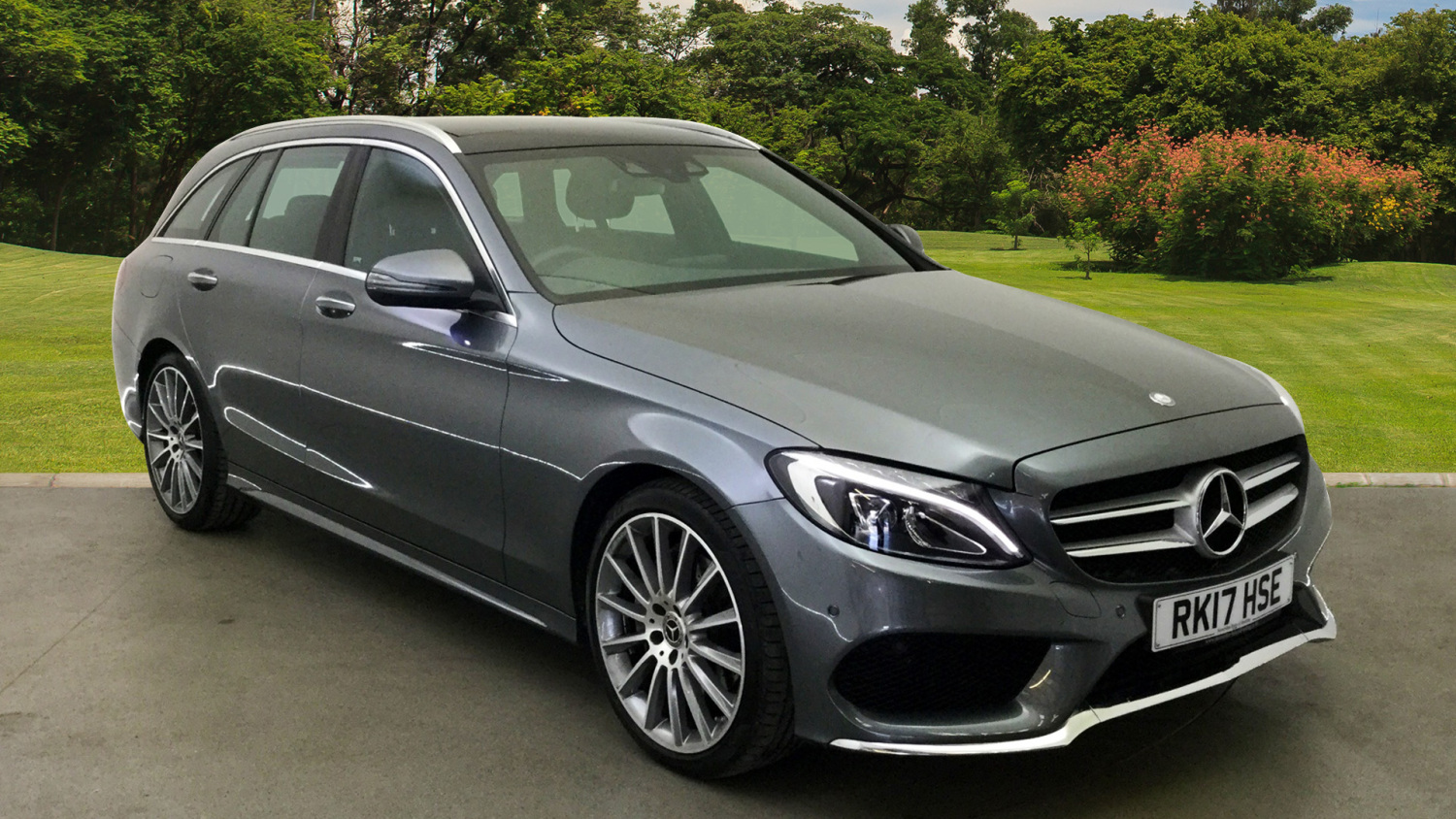 used mercedes benz c class c220d amg line premium 5dr 9g tronic diesel estate for sale bristol. Black Bedroom Furniture Sets. Home Design Ideas