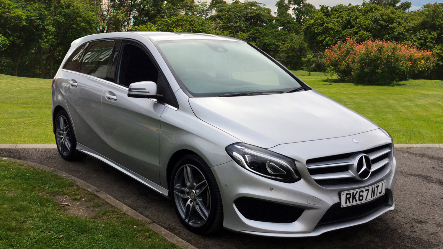 Used Mercedes Benz B Class B200d Amg Line Premium 5dr Auto